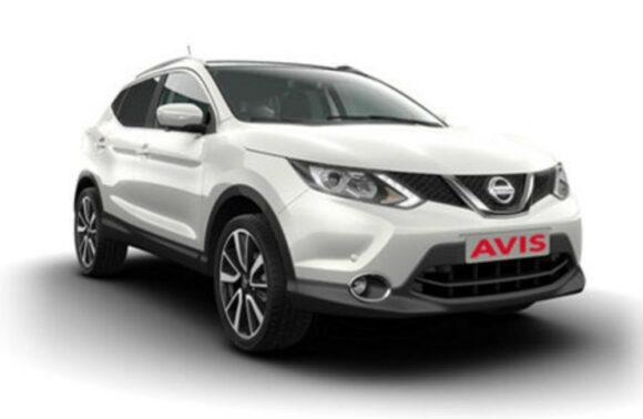 Avis'den 1 Günlük SUV sınıf otomatik/dizel araç kiralama