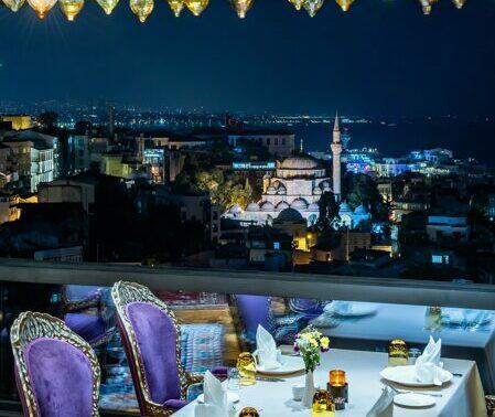 Ajwa Hotel Sultanahmet Zeferan Restaurant'ta 1 Kişilik Set Menü