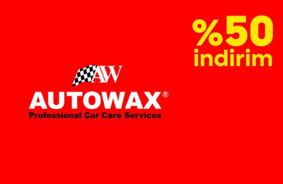 Autowax Detaylı Motor Temizleme + Cilalı Köpüklü Yıkama + Motor Koruyucu Cila Paketinde %50 İndirim Kuponu