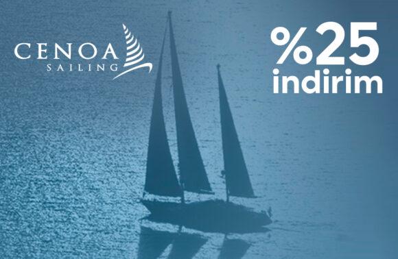 Cenoa Sailing Temel Yelken Eğitimi %25 İndirim Kuponu