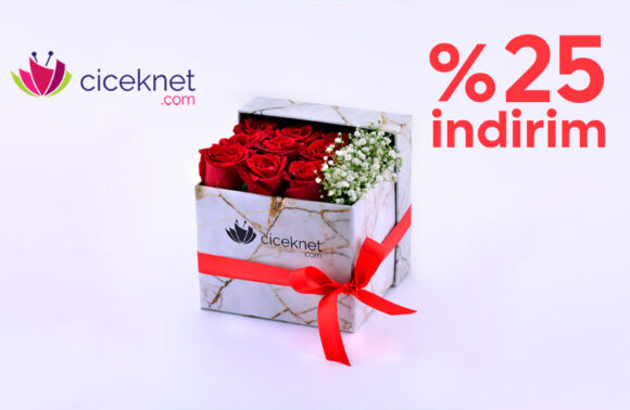 Çiçeknet %25 İndirim Kuponu