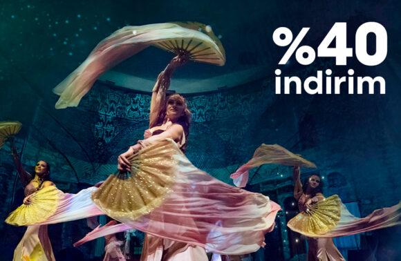 Hocapaşa Kültür Merkezi Dansın Ritmi Gösterisi Giriş Biletlerinde %40 indirim Kuponu