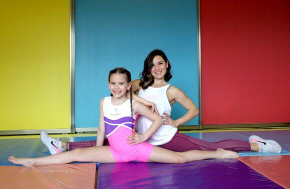 Ebru Karaduman Beden Atölyesi 'nde Çocuklar İçin Temel Jimnastik Dersi