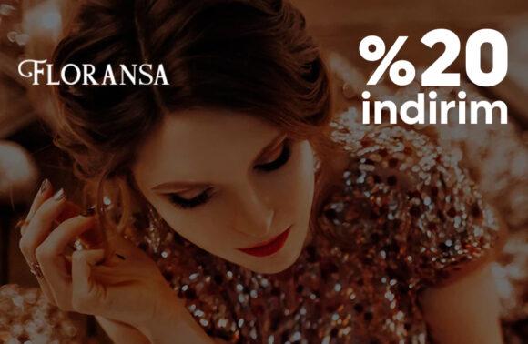 Floransa Jewelry % 20 İndirim Kuponu