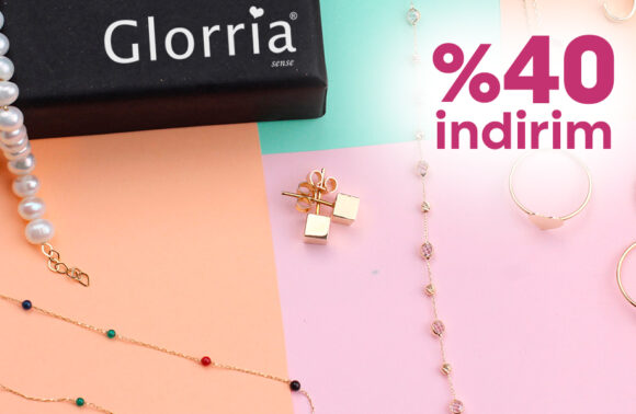 Glorria Sense Jewellery & Accessories % 40 İndirim Kuponu