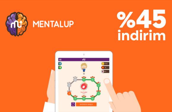 MentalUP Online Eğitici Çocuk Oyunu %45 İndirim Kuponu