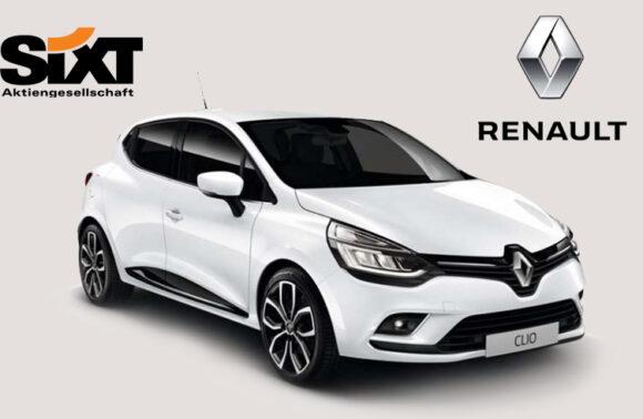 Sixt rent a car'dan Renault Clio Araç Kiralama