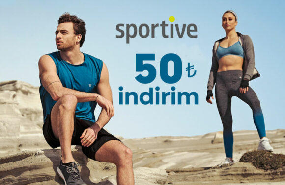 Sportive.com.tr 50TL İndirim Kuponu