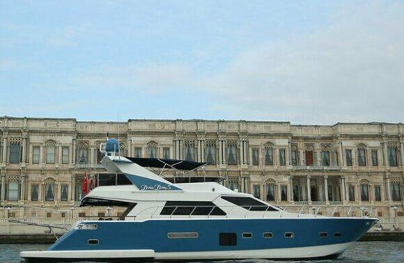 İstanbul Boğazı'nda 1,5 Saatlik Özel Tekne Turu