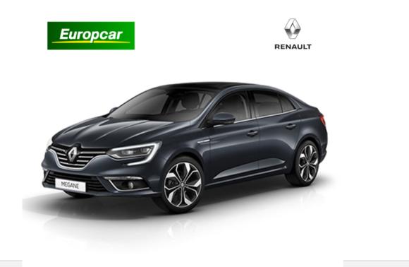 Europcar 1 Günlük OrtaSegmentDizel Otomatik Araç Kiralama