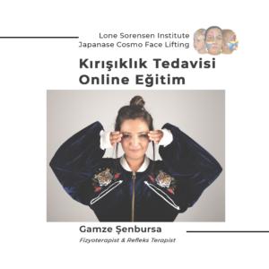 """Gamze Şenbursa ile """"Online Kırışıklık Tedavisi """"Eğitimi"""
