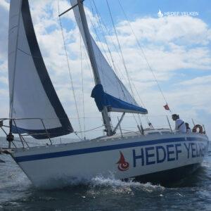 Hedef Yelken ile ''Kendi Teknemin Kaptanı Olmak İstiyorum'' Eğitimleri