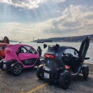 Twizy Renault Elektikli Araç ile 2 Kişi, 3 Saat İstanbul Boğaz Turu Deneyimi