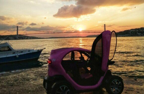 Twizy Renault Elektikli Araç ile 1 Kişi, 3 Saat İstanbul Boğaz Turu Deneyimi